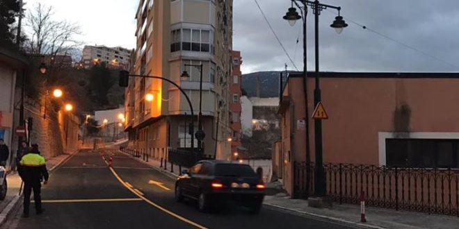Alcoy pide la reapertura de los dos carriles de La Beniata