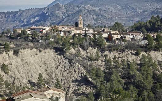Benillup busca soluciones para el Barranco de Caraita
