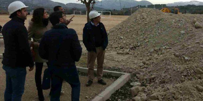 El Gobierno de Cocentaina propone la segunda fase del Campo 'La Vía'