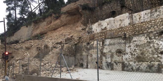 Las obras para consolidar la Beniata arrancarán la próxima semana