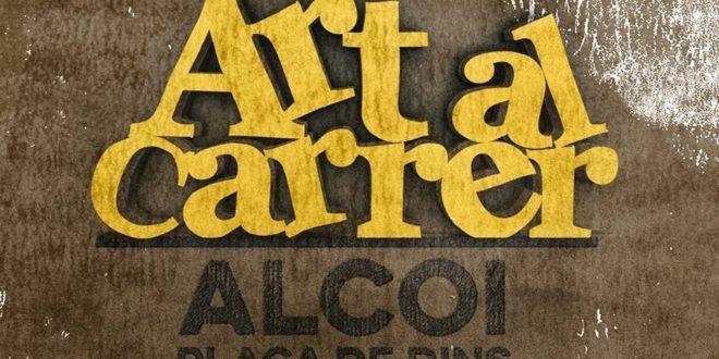 Art al Carrer en la Plaça de Dins de Alcoy