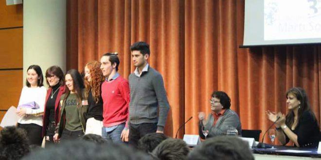 Alumnos del Colegio San Francisco de Asís de Cocentaina premiados en un concurso de BookTrailer