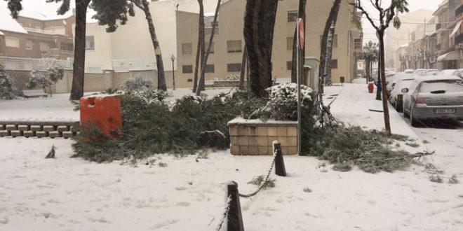 Ibi solicita ayudas para hacer frente a los daños del temporal