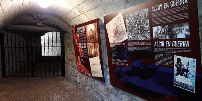 Concluye la adecuación de un tramo del refugio antiaéreo de Santo Tomás