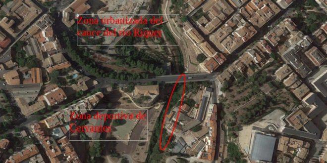 Licitada la redacción del proyecto de la pasarela de Cervantes en Alcoy