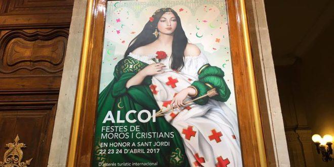La mujer protagoniza el cartel anunciador de la Festa