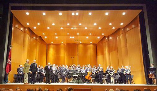 Los músicos de Alcoy festejan a su patrona, Santa Cecilia