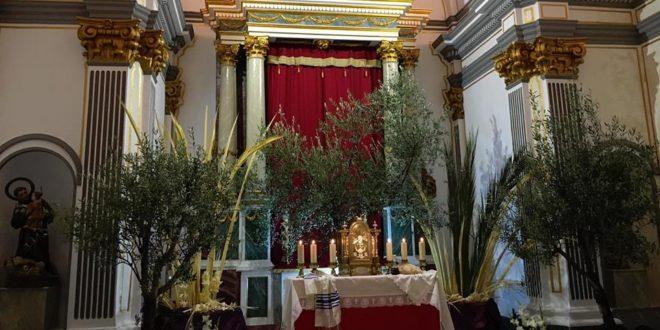Cocentaina mantiene la tradición de la Visita a los Monumentos