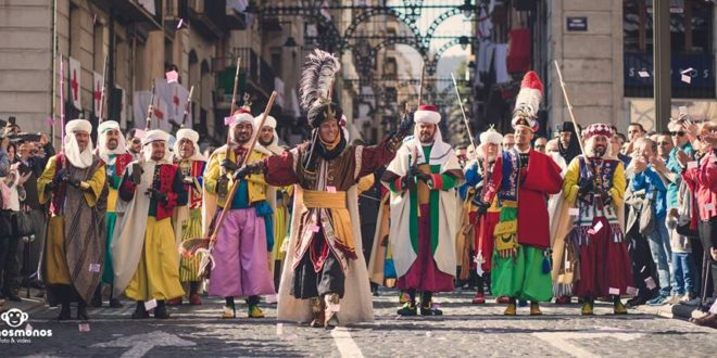 Alcoy solicita la declaración de BIC para las Fiestas de Moros y Cristianos