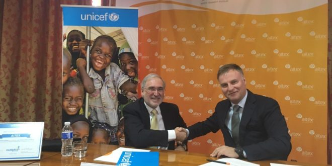 AITEX y UNICEF trabajarán conjuntamente por la educación de calidad