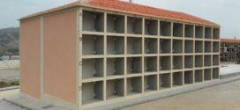 Finaliza la construcción de ochenta nuevos nichos en el Cementerio de Alcoy