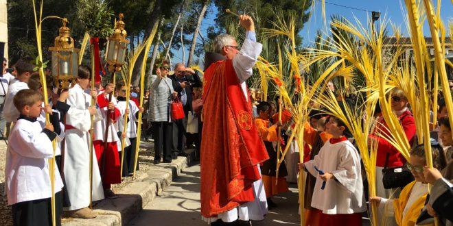 Toda la comarca celebra el Domingo de Ramos