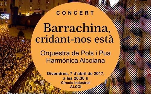 """Concierto """"Barrachina, cridant-nos està"""" en el Círculo Industrial"""
