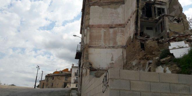 Ciudadanos pide el derribo urgente de los inmuebles en ruinas de Algezares