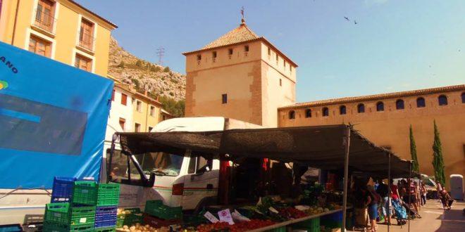 Cocentaina reorganiza el Mercadillo Tradicional del Jueves