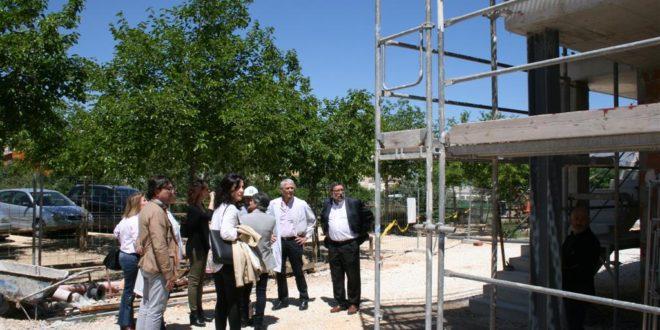 La ampliación del Centro de Salud de Cocentaina avanza a buen ritmo