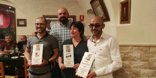 Entregados los Premios del Concurso de Tapas de la Asociación Samarita