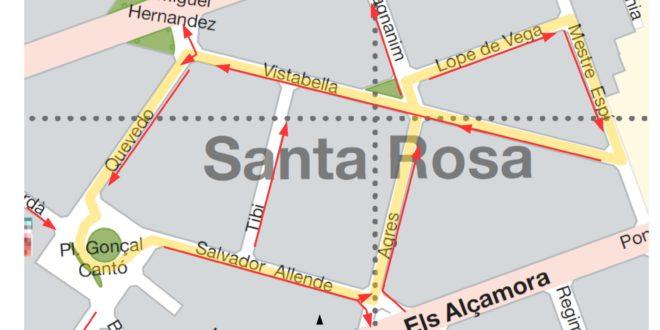 El PP propone cambios en el tráfico de la zona de Rodes