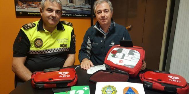 Alcoy instala seis desfibriladores en varios puntos de la ciudad