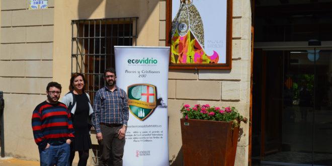 Muro participa en una campaña para fomentar el reciclado de vidrio en Fiestas