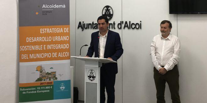 Alcoy recibe 10 millones de euros para impulsar su desarrollo urbano