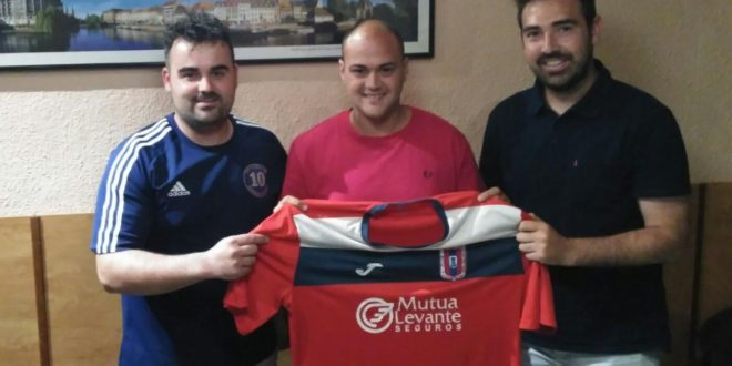 Joaquín Giménez, nuevo entrenador del CD Contestano