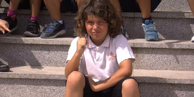 Juan José Valls vive su primer día como Sant Jordiet