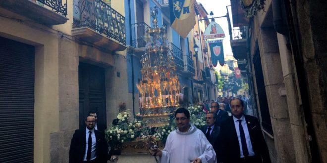 La Procesión del Corpus recorre las calles de Cocentaina