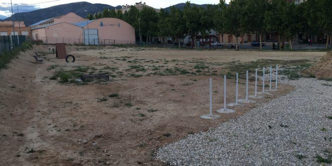 Muro habilita un parque canino