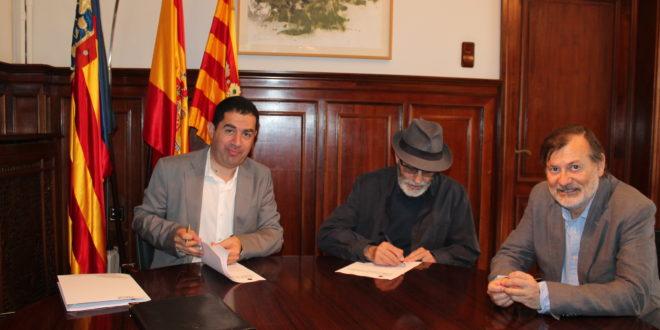 La Escola d´Art y el Ayuntamiento firman un convenio de colaboración