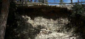 Guanyar pide una solución urgente para los derrumbes en la Font de Serelles