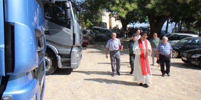 Los transportistas de la comarca celebran la fiesta de San Cristóbal