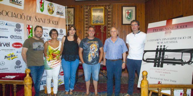 El Premi Sant Jordi de música festera se disputará en la comarca