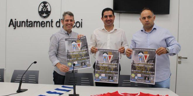 El Trofeu Ciutat d´Alcoi enfrentará al Alcoyano y al Real Murcia CF