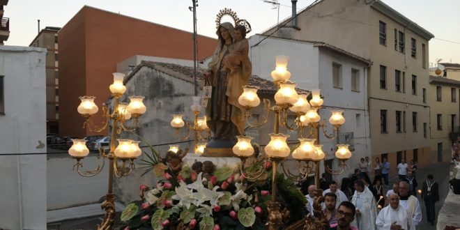 Cocentaina celebró la tradicional fiesta de la Virgen del Carmen