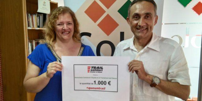 El Trail Solidari entrega las recaudaciones del Dorsal 0