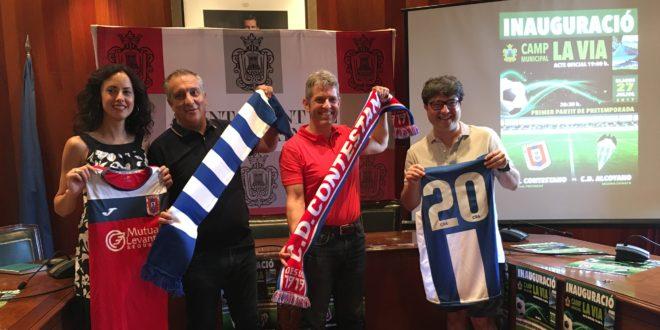 El nuevo campo de fútbol La Vía se inaugurará el próximo 27 de julio