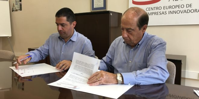 El CEEI y las Comarcas Centrales unen esfuerzos para impulsar proyectos conjuntos