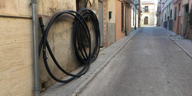 Arrancan las obras de reurbanización de varias calles de la pedanía de Benàmer