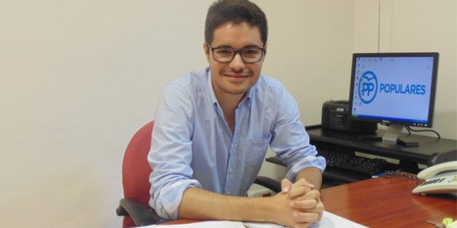 Ray Montava, nuevo presidente local del PP de Cocentaina