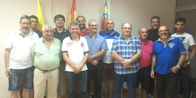 El Alcoyano estrecha lazos de colaboración con varios equipos de la ciudad