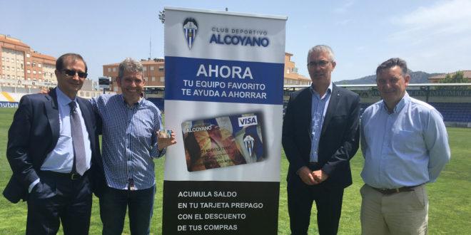Una tarjeta para promocionar al Alcoyano