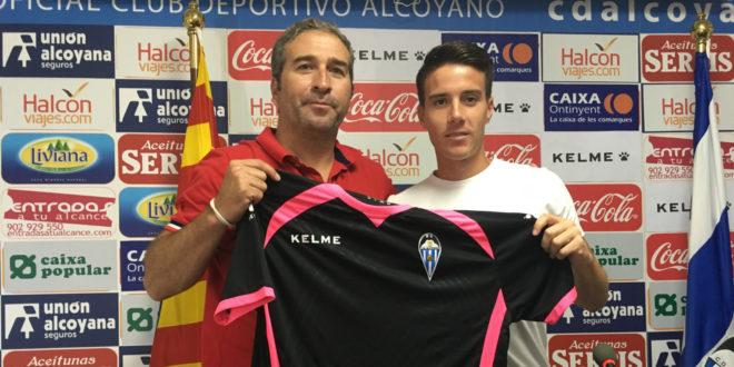 El Alcoyano presenta oficialmente a Kilian