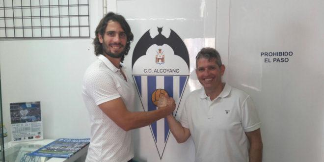 Mariano firma su renovación por el Alcoyano