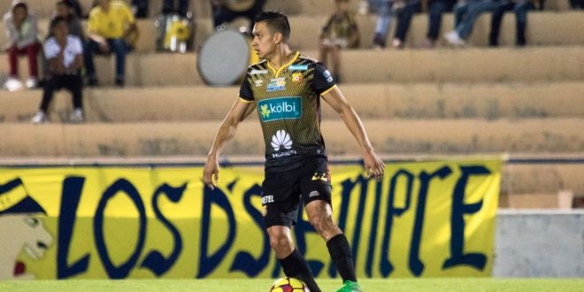 El internacional costarricense José Miguel Cubero jugará en el Alcoyano