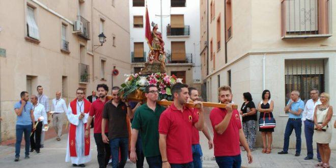 El traslado de Sant Hipòlit adentra a Cocentaina en sus esperadas Fiestas