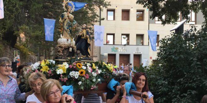 Fiesta de la Virgen de los Lirios en Alcoy