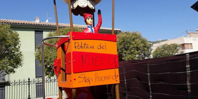 Tirisiti sufre actos vandálicos en La Glorieta