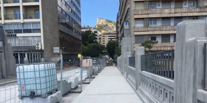 Las obras del Pont de Sant Jordi entran en la recta final