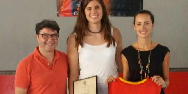 El Ayuntamiento de Cocentaina recibe a las deportistas Montse Brotóns i Anna Micó
